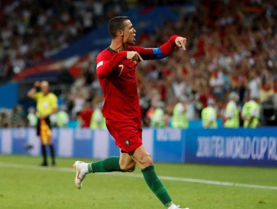 Con un hat-trick, el portugués ya hace historia en Rusia 2018. (Foto: Reuters)