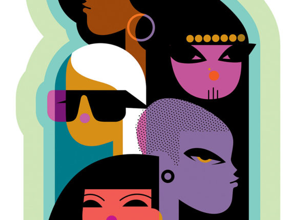 International Women for Variety (Ilustración por Kirsten Ulve)