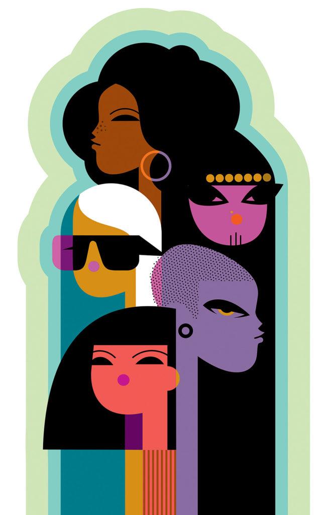 International Women for Variety (Ilustración por Kirsten Ulve)
