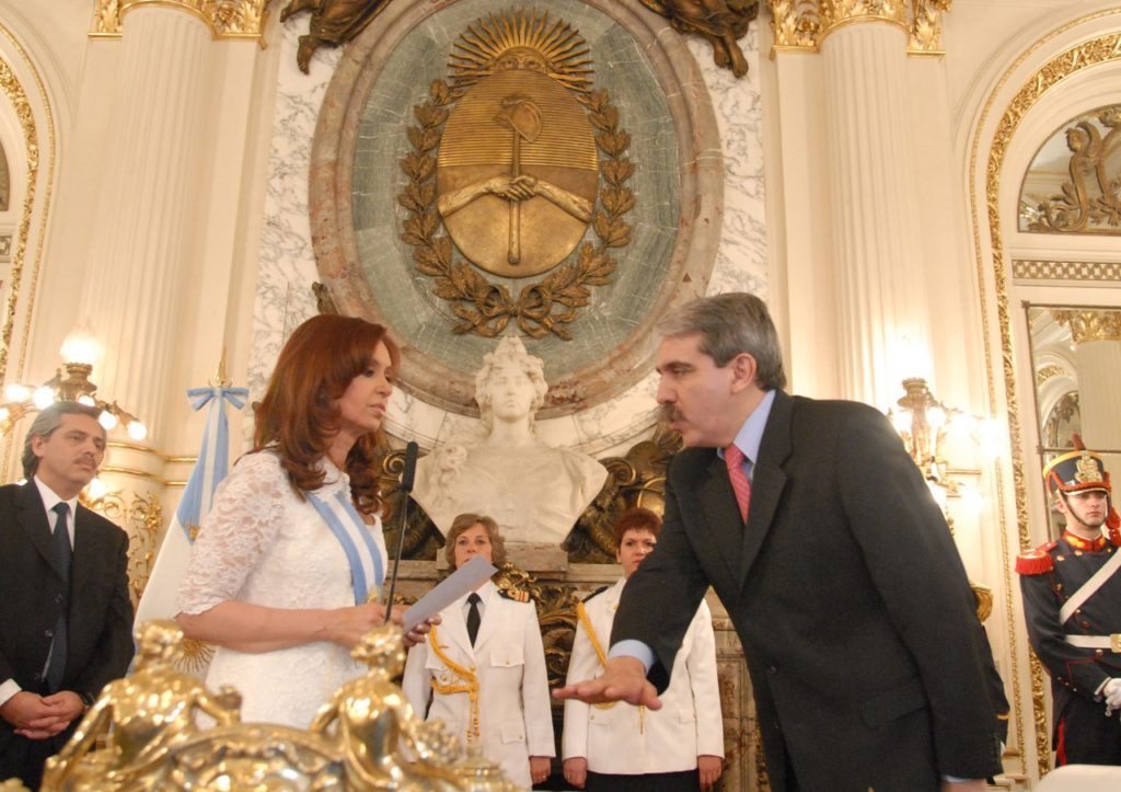 Alberto Fernández junto a Cristina Fernández Fuente: Wikimedia Commons