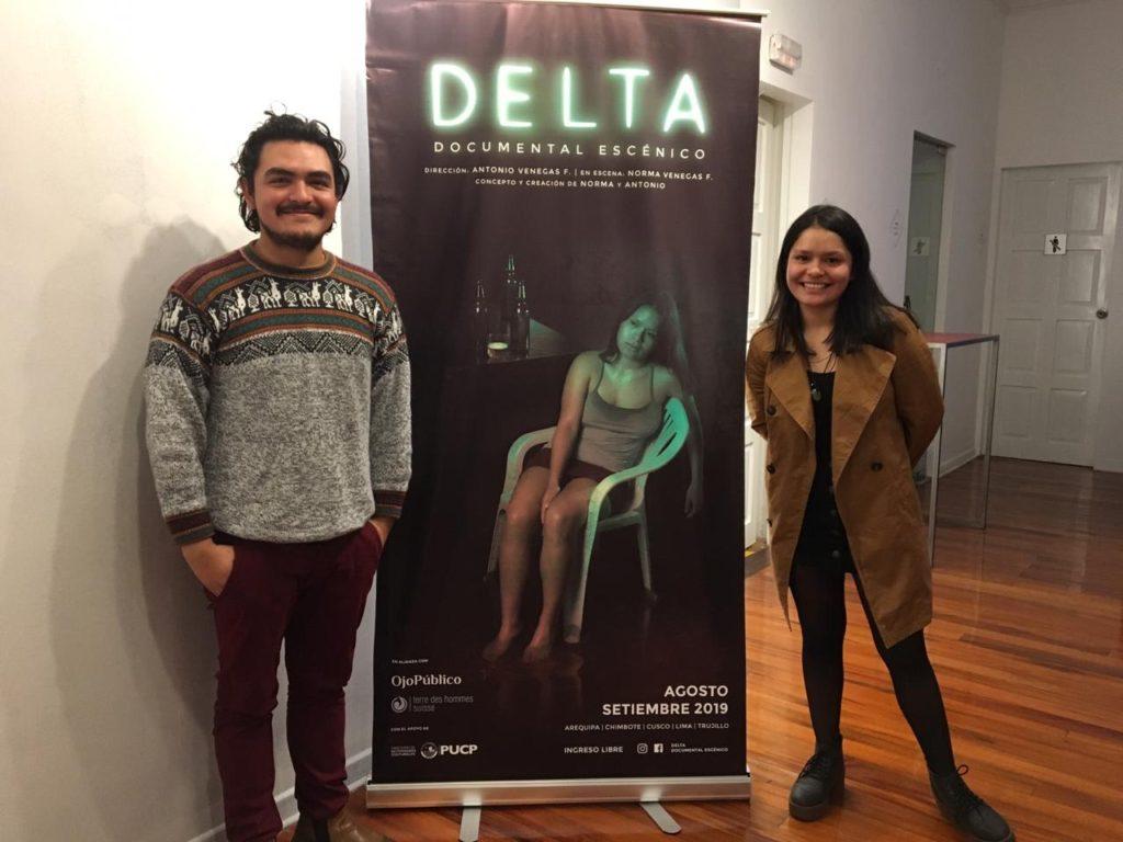 Norma y Antonio se alistan para las siguientes presentaciones en el Lugar de la memoria (Lum)