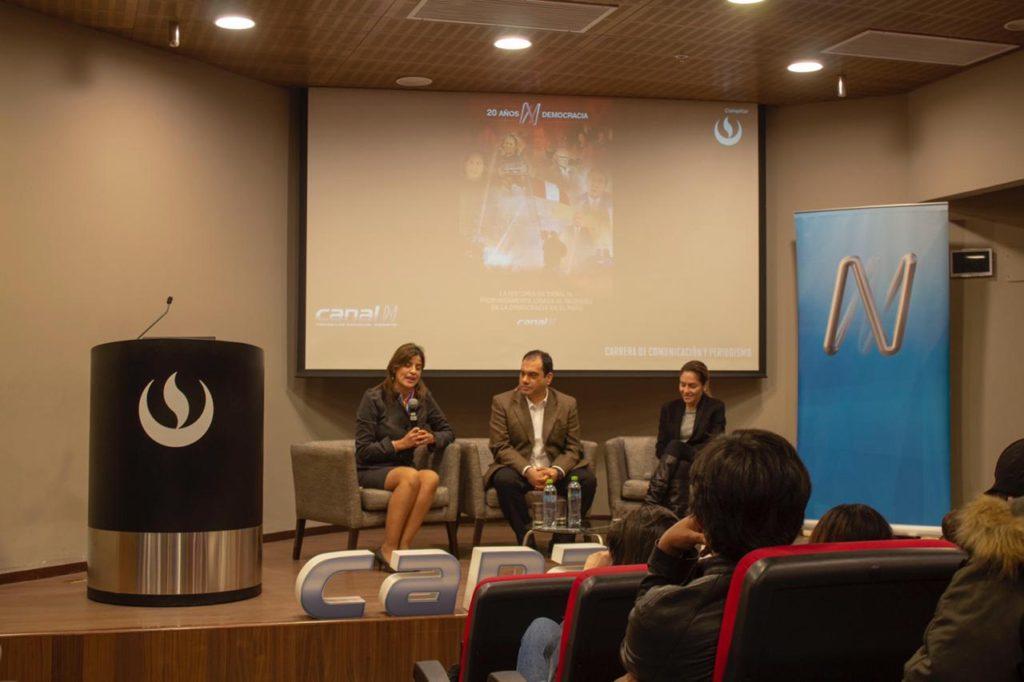 Manuel Erausquin fue el moderador de este encuentro. Foto: Alvaro Poicon