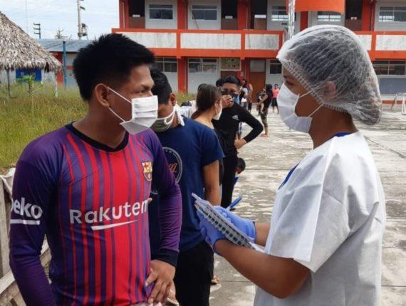 Hospital rural en el departamento de Loreto.
