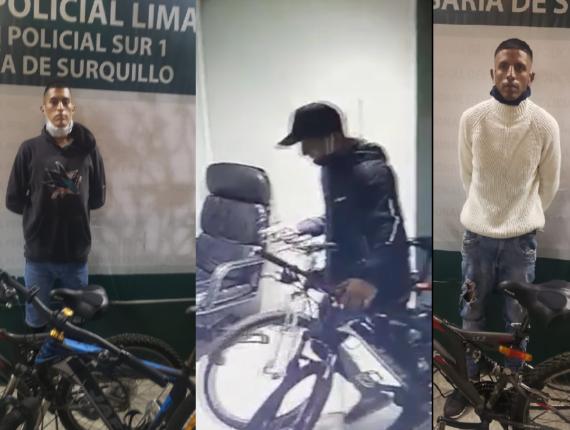 Robos de bicicletas en Lima