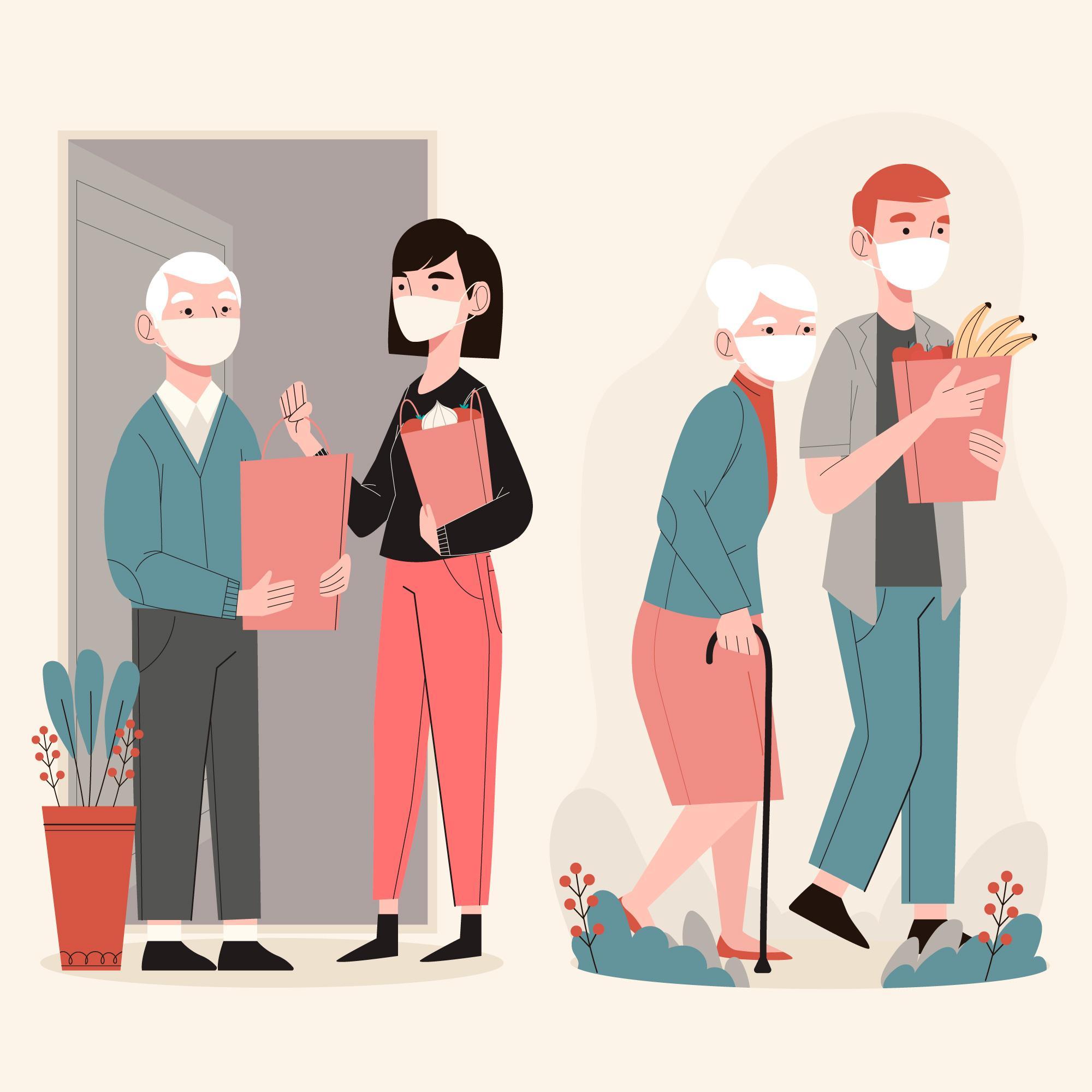 La cuarentena puede afectar la salud mental de los adultos mayores