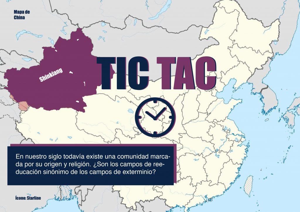 mapa de Shinkiang