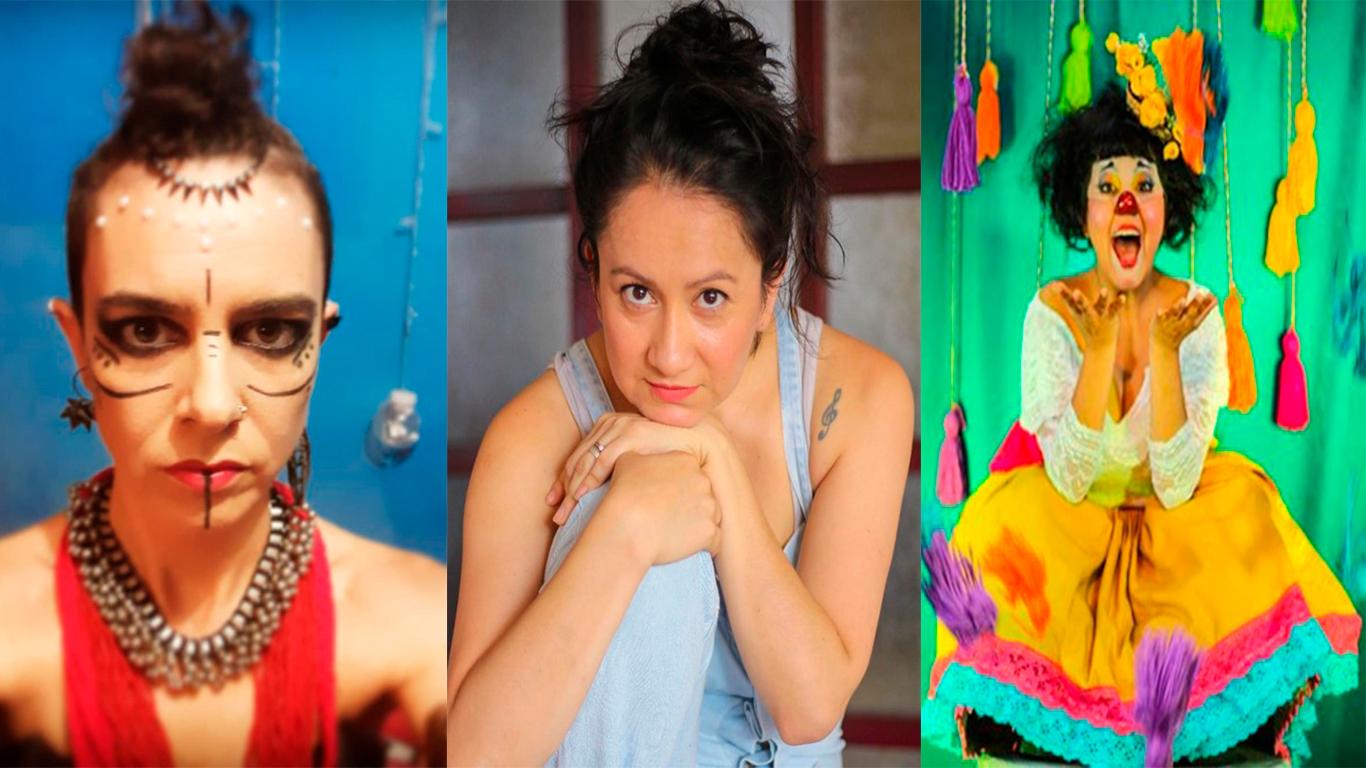 Mariana Palau, Carol Hernández e Hilda Tovar, actrices e improvisadoras que defienden la igualdad / Foto: Archivo propio