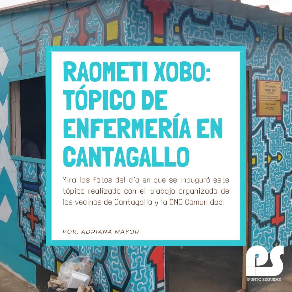 Tópico de enfermería en Cantagallo